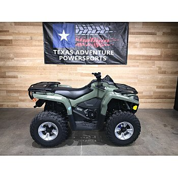 2019 Can-Am Outlander 570 DPS for sale 200800219