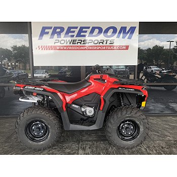 2019 Can-Am Outlander 650 DPS for sale 200830290