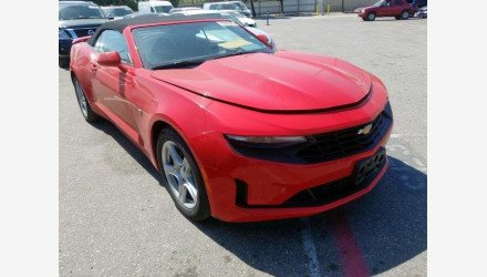 2019 Chevrolet Camaro Convertible for sale 101307900