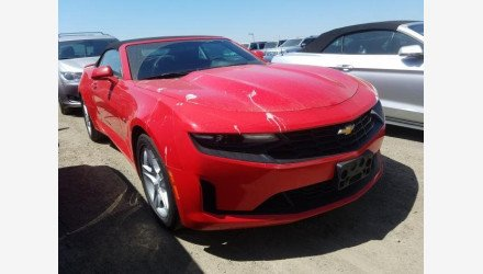 2019 Chevrolet Camaro Convertible for sale 101331291