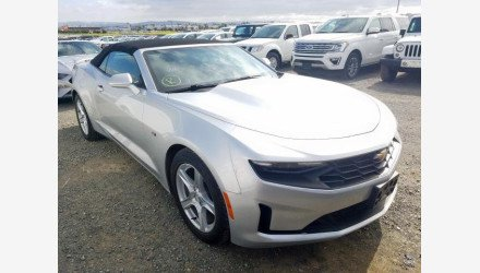 2019 Chevrolet Camaro Convertible for sale 101331369