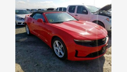 2019 Chevrolet Camaro Convertible for sale 101331370