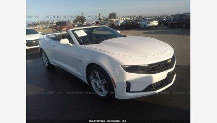 2019 Chevrolet Camaro Convertible for sale 101337538