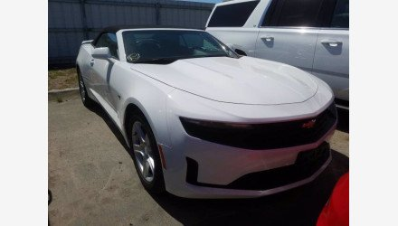 2019 Chevrolet Camaro Convertible for sale 101339758