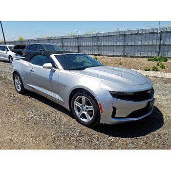 2019 Chevrolet Camaro Convertible for sale 101348199