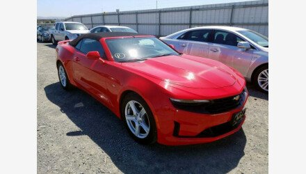 2019 Chevrolet Camaro Convertible for sale 101362577