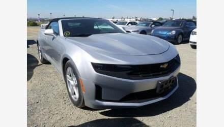 2019 Chevrolet Camaro Convertible for sale 101362582