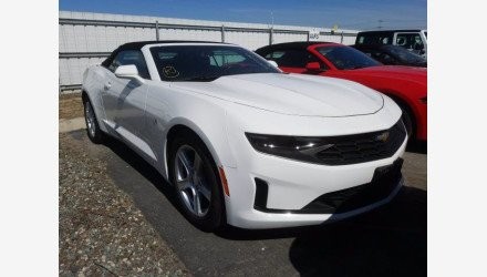 2019 Chevrolet Camaro Convertible for sale 101379003