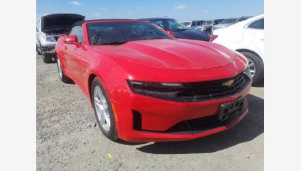 2019 Chevrolet Camaro Convertible for sale 101379045