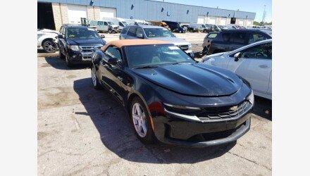 2019 Chevrolet Camaro Convertible for sale 101408263