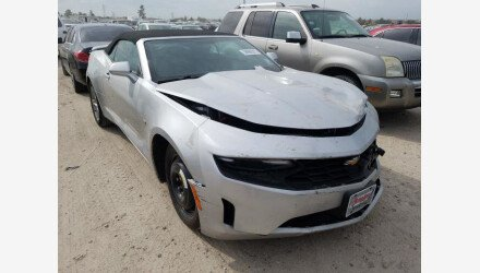 2019 Chevrolet Camaro Convertible for sale 101489830
