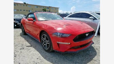 2019 Ford Mustang for sale 101234524