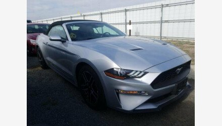 2019 Ford Mustang Convertible for sale 101327913