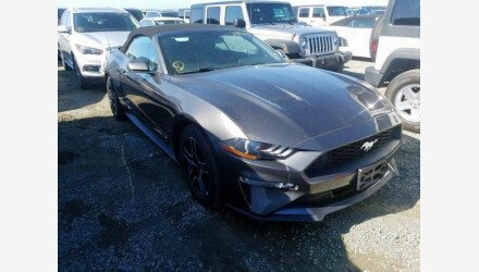 2019 Ford Mustang Convertible for sale 101330531