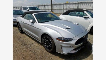 2019 Ford Mustang Convertible for sale 101331267