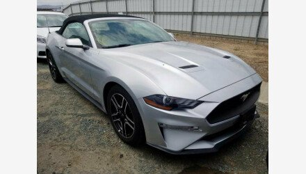 2019 Ford Mustang Convertible for sale 101331368