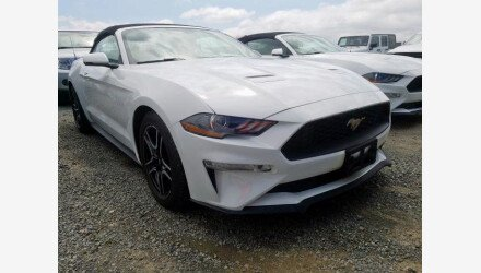 2019 Ford Mustang Convertible for sale 101339734