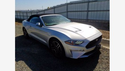 2019 Ford Mustang Convertible for sale 101339737