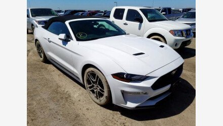 2019 Ford Mustang Convertible for sale 101342100