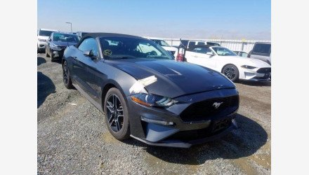 2019 Ford Mustang Convertible for sale 101342863