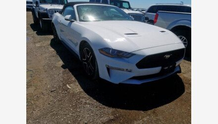 2019 Ford Mustang Convertible for sale 101345054