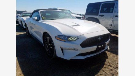 2019 Ford Mustang Convertible for sale 101345057