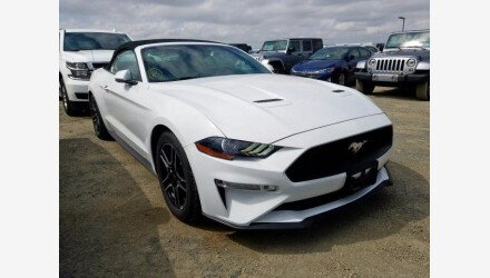 2019 Ford Mustang Convertible for sale 101359586