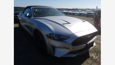 2019 Ford Mustang Convertible for sale 101359594