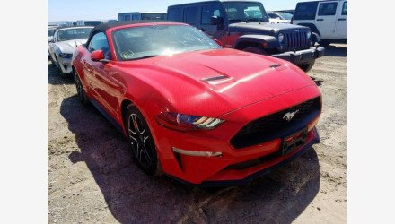 2019 Ford Mustang Convertible for sale 101359617