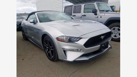 2019 Ford Mustang Convertible for sale 101360614
