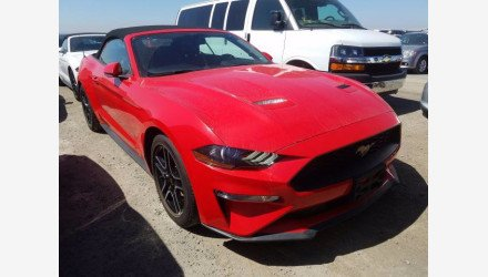 2019 Ford Mustang Convertible for sale 101362548