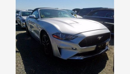 2019 Ford Mustang GT Convertible for sale 101378484