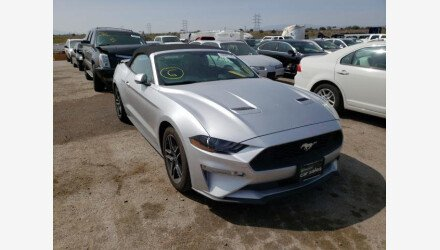 2019 Ford Mustang Convertible for sale 101393092
