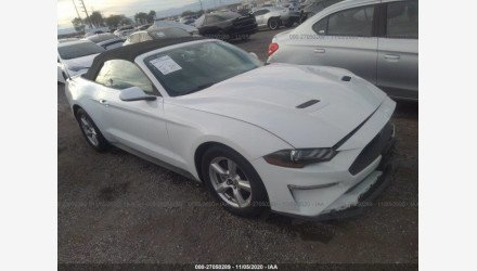 2019 Ford Mustang Convertible for sale 101443483
