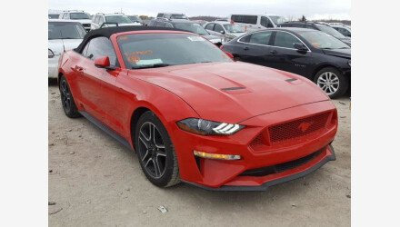 2019 Ford Mustang Convertible for sale 101460006