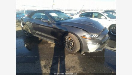 2019 Ford Mustang Convertible for sale 101491882