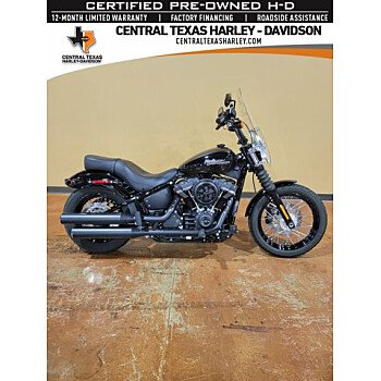 2019 Harley-Davidson Softail Street Bob for sale 201109213