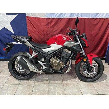 2019 Honda CB500F for sale 200936251