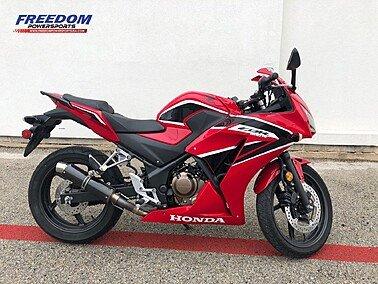 2019 Honda CBR300R for sale 201029336