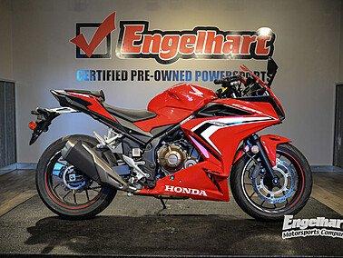 2019 Honda CBR500R for sale 201039220