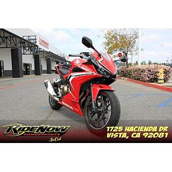 2019 Honda CBR500R for sale 201073516