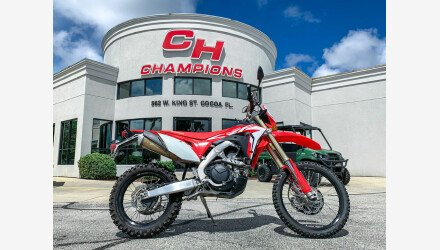 2019 Honda CRF450L for sale 200972160