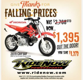 2019 Honda CRF50F for sale 200605008