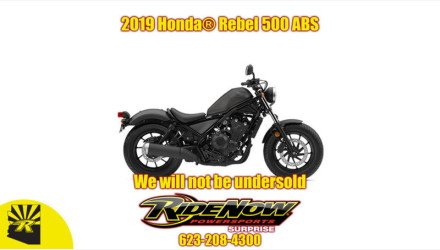 2019 Honda Rebel 500 ABS for sale 200808525