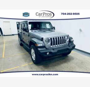 2019 Jeep Wrangler 4WD Unlimited Sport for sale 101236926