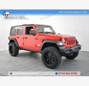 2019 Jeep Wrangler 4WD Unlimited Sport for sale 101329559