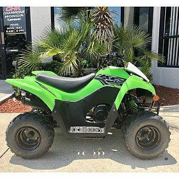 2019 Kawasaki KFX50 for sale 200599794