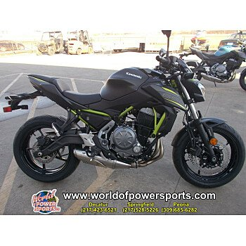 2019 Kawasaki Z650 ABS for sale 200663290