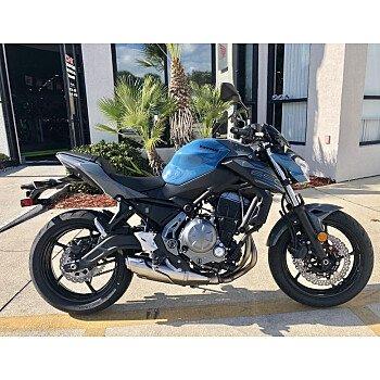 2019 Kawasaki Z650 for sale 200689667