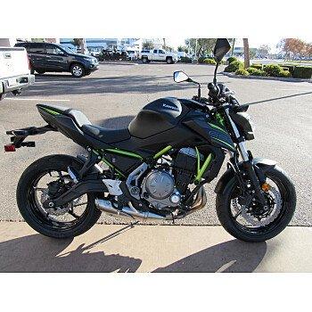 2019 Kawasaki Z650 for sale 200708376